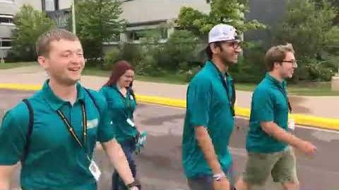 Preview image for Facebook Live: Fire up with the 2018 Michigan Tech Summer Youth Program Counselors video