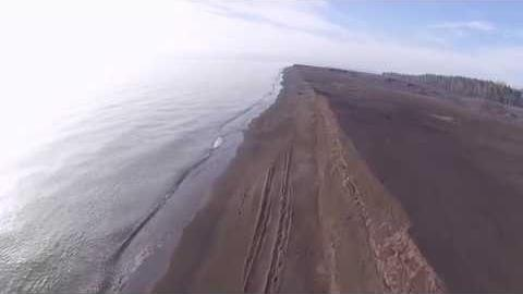Preview image for Stamp Sands on the Shore of Lake Superior video