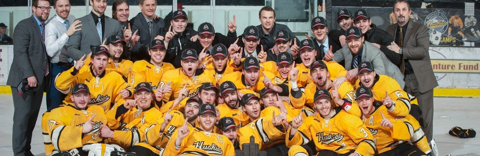 Michigan Tech hockey team.