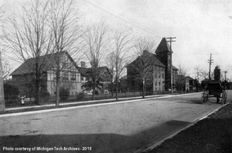 Michigan Technological University | About Us | Our History—1885