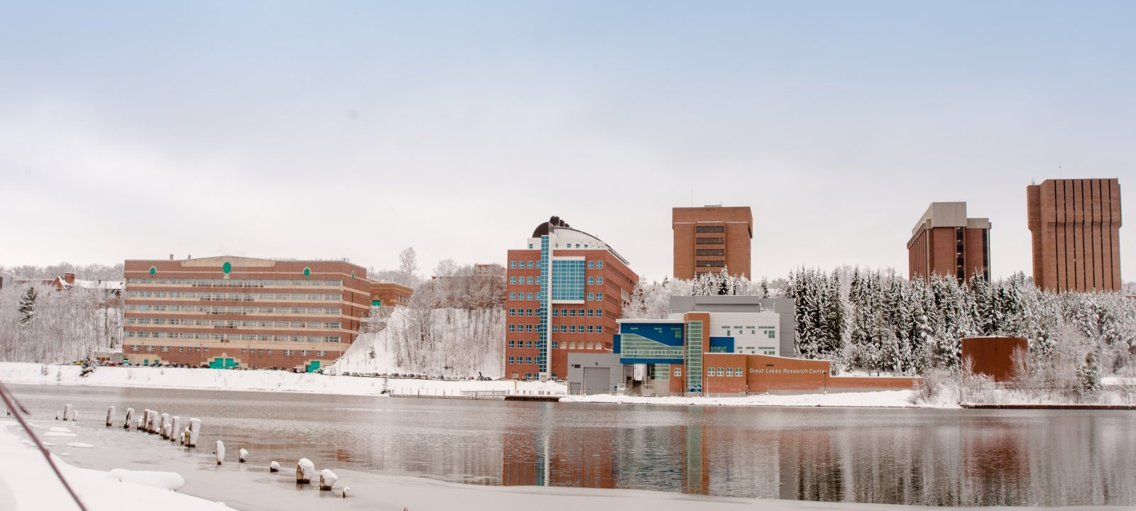 Michigan Tech's campus.