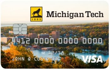 Michigan Tech Alumni VISA Rewards card