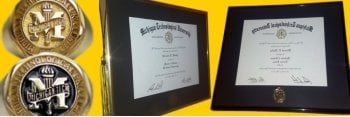 Class rings and diploma frames