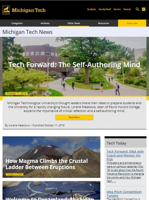 Michigan Tech News