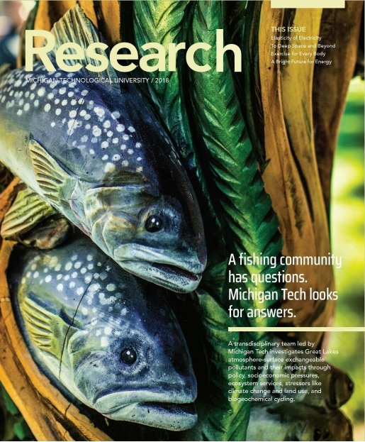 Michigan Tech Research Magazine 2018