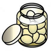 pickled eggs clip art