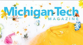 Michigan Tech Magazine cover