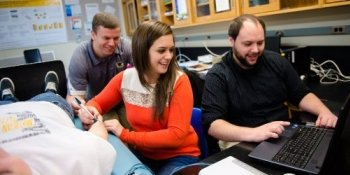 Biology students who choose the pre-professional concentration prepare for graduate-level education in healthcare, including medical, dental, veterinary, and physician's assistant programs.