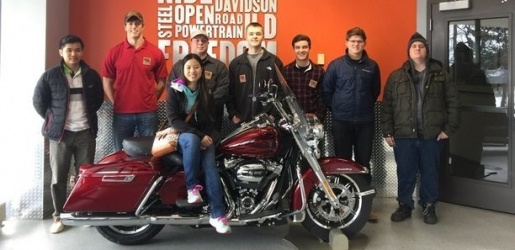 ASEM group at Harley Davidson