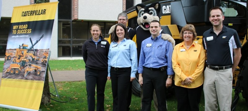 Six Recruiters from Caterpillar with Blizzard