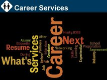 Career Services word cloud