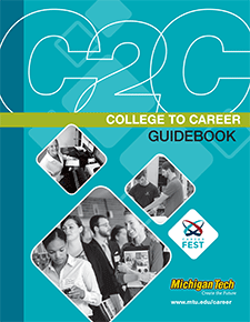 The cover of the College to Career guidebook