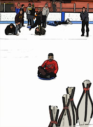Ice Bowling