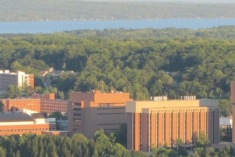 Chem Sci Building from Portage