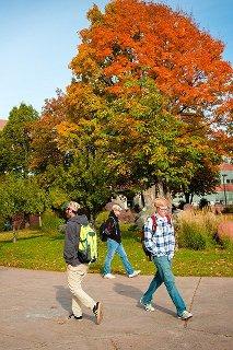 Fall Campus Walk