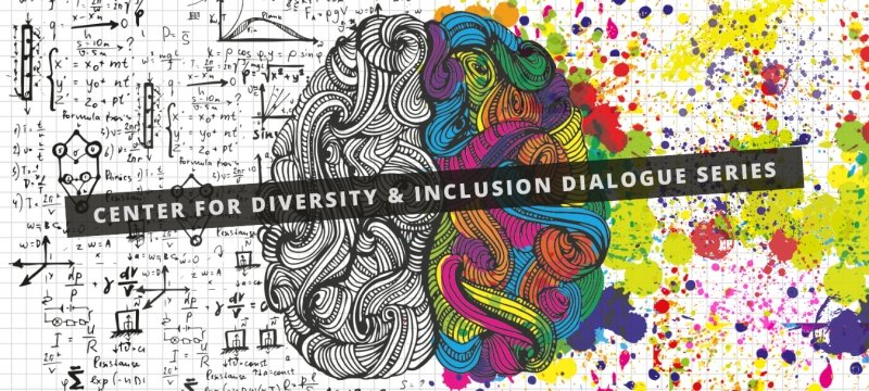 Center For Diversity and Inclusion Dialogue Series with a brain