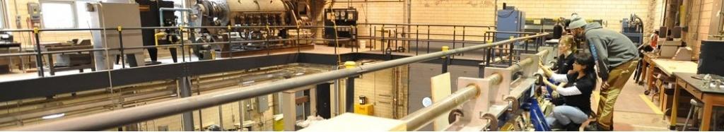 A big electrical lab.