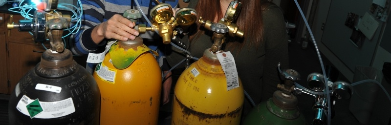 Pressurized tanks.