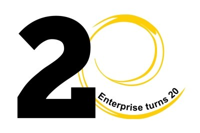 Enterprise turns 20 logo