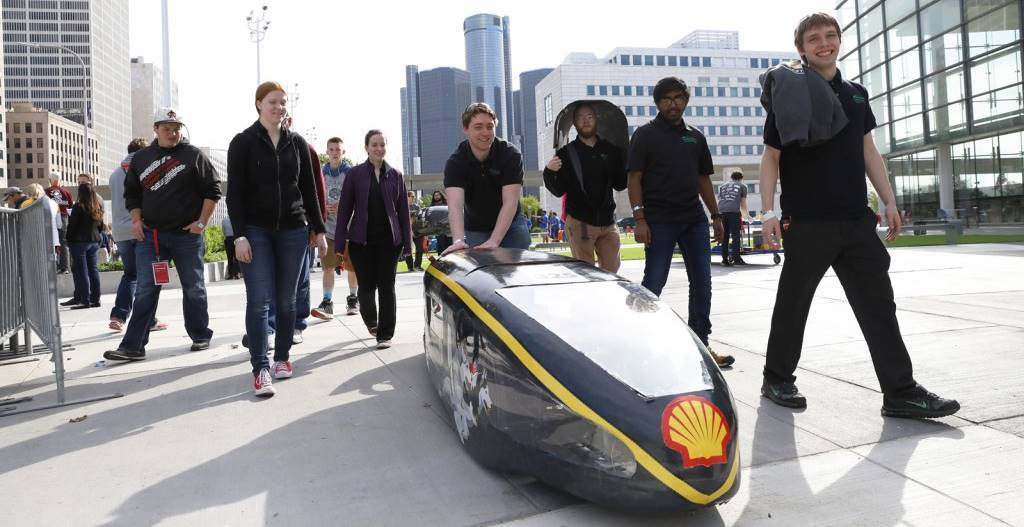 Supermileage Systems Enterprise compete in Shell Eco-Marathon