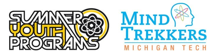 Two logos: Summer Youth Programs and Mind Trekkers