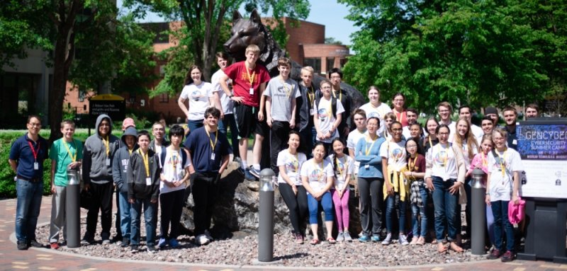 GenCyber Student Camp 2019 Group Photo