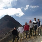 Michigan Tech Volcanic Students in Guatemala 2007