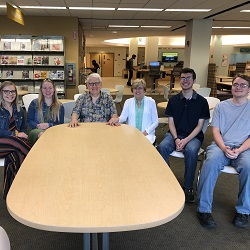 Franklin and Lorraine St. John visited campus during August of 2019 and were able to meet up with a number of their current scholarship recipients.