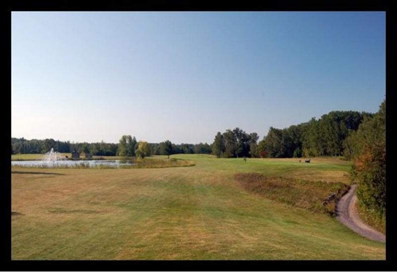 Fifth hole at Portage Lake Golf Course.