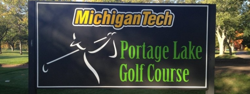 Course sign.
