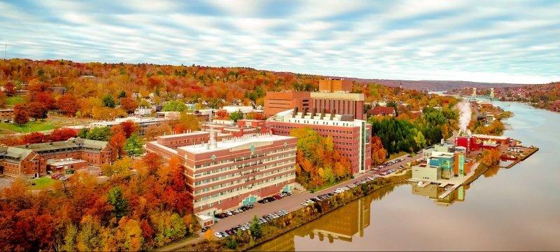 Michigan Tech campus in the Fall