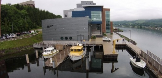 waterside view of the GLRC