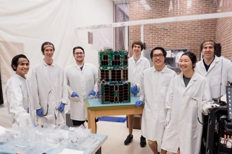 the Oculus nanosatellite team