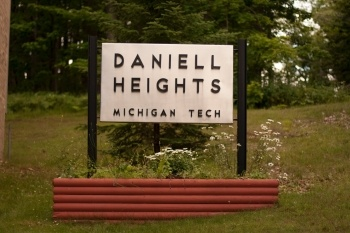Daniell Heights sign