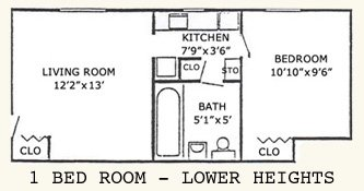 ! bed room lower heights floor plan