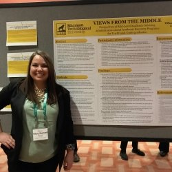 RLC Tiffany Shemwell presented a poster at ACPA this year.