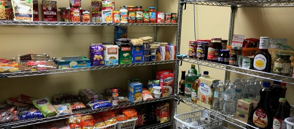 The HuskyFAN pantry.