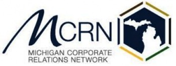 Logo for the Michigan Corporate Relations Network (MCRN)