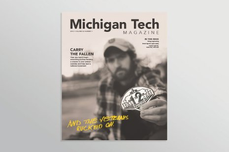 Michigan Tech Magazine Spring 2015 Cover