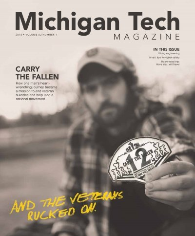 2015 Michigan Tech Magazine: Issue 1 Cover Image