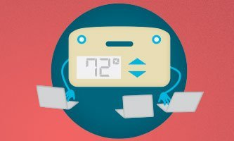 Smart thermostats can learn your routine to better meet your heating and cooling needs.