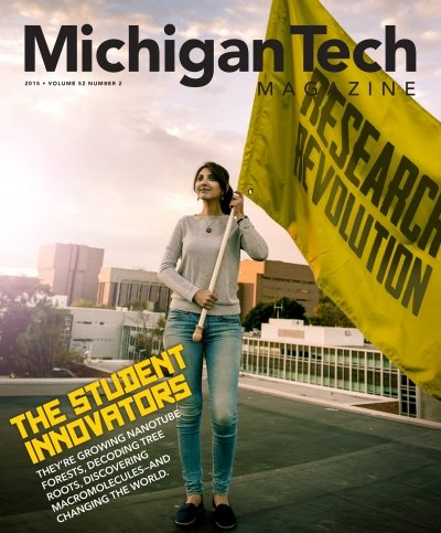 2015 Michigan Tech Magazine: Issue 2 Cover Image