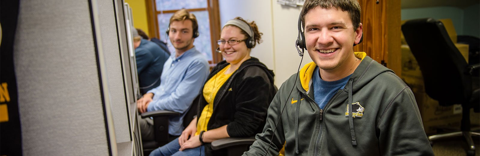 Michigan Tech student callers