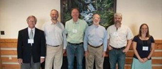 Michigan Tech alumni at the 2015 Western Mensurationists' meeting.