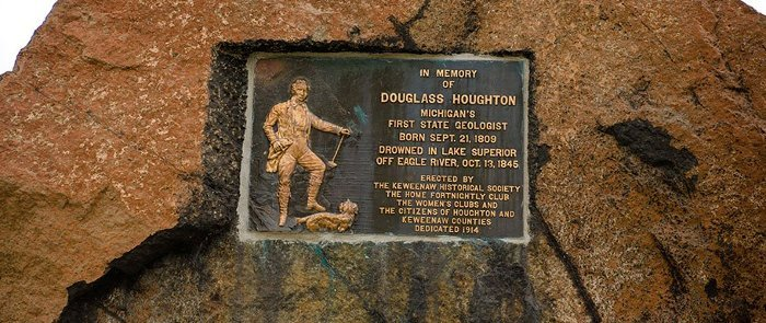 Houghton Memorial Plaque