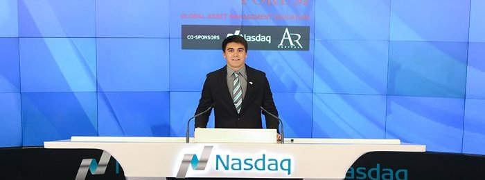 Cory Sullivan closes the NASDAQ.
