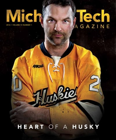 2016 Michigan Tech Magazine: Issue 1 Cover Image