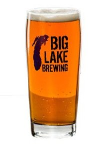 Big Lake Brewing glass