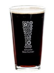 Appleton Beer Factory glass