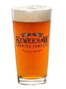 Keweenaw Brewing Company glass